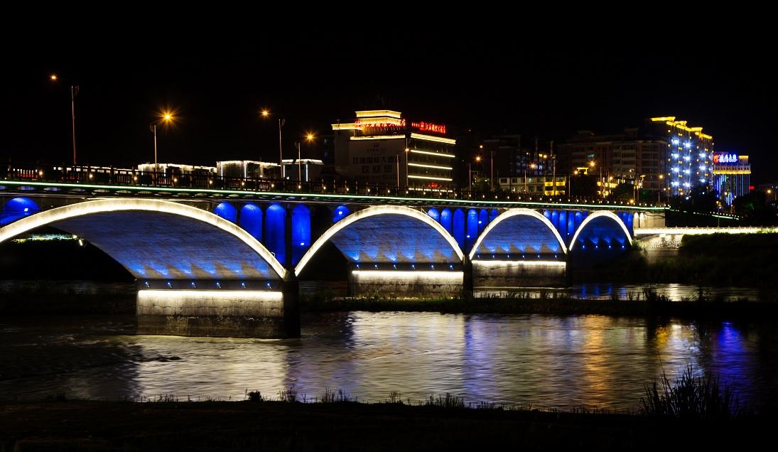 四川·江油·涪江两岸泛光照明