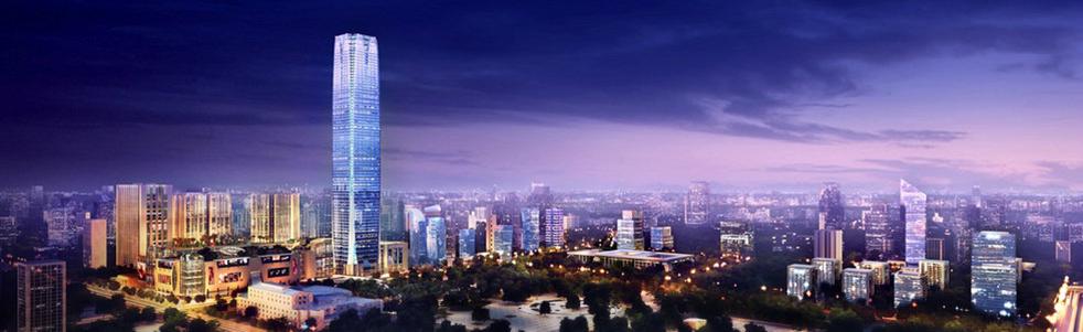 柳州·地王国际财富中心泛光照明
