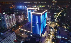 深圳·福田保税区·创凌通大厦泛光照明