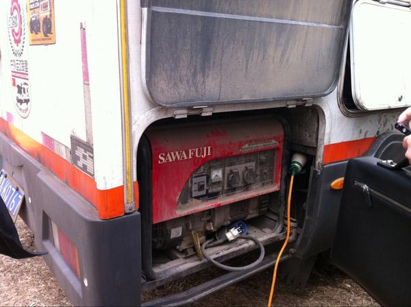 日本泽藤本田3KW汽油发电机组